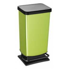 Урна с педалью Rotho PASO 40 л. зеленый / 1754110747, арт. 1754110747