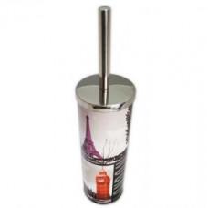 Klimi 307-F Ершик для унитаза из нержавеющей стали / хром и фотопечать, арт. 307-F