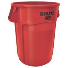Контейнер для мусора Rubbermaid BRUTE 166,5л / красный / FG264300RED
