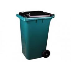 Контейнер для мусора на колесах 240л, зеленый, арт. 5937, арт. 5937