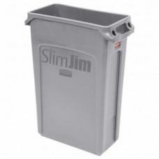 RUBBERMAID FG354060GRAY Контейнер SlimJim с вентиляционными каналами