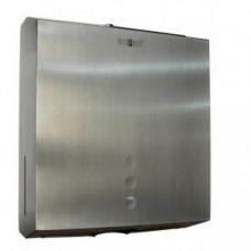 NOFER 04006.S Диспенер для бумажных полотенец Nofer из нержавеющей стали матовый, арт. 04006.S