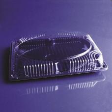 Контейнер для еды ИП-219 прямоугольный 250х180х45мм, штука