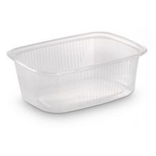 Контейнер для еды прямоугольный 200мл 108*82*40 без крышки, штука
