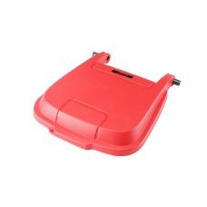 Крышка для контейнера Vileda Атлас 100 л, красный, арт.137769