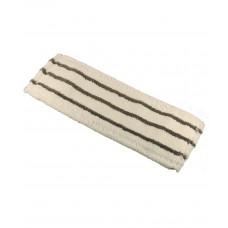 Моп с полосами скольжения (микрофибра), карман + язык, 40*11 см, арт. MMX-40-RS