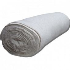 Полотно холстопрошивное шир. 0,80м, рулон 50м (белое)