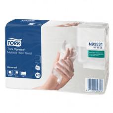 Бумажные листовые полотенца Tork Xpress® Advanced сложения Multifold , 190 листов, 2 слоя, размер 21*23,4 см, Н2 (Z-сложение) (20 шт/упак), арт. 471117