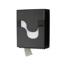 Диспенсер для туалетной бумаги в рулонах MEGAMINI Mini JAMBO Toilet paper BLACK, черный, арт. 92210