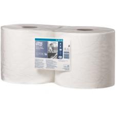 Протирочная бумага повышенной прочности в рулоне Tork Advanced, 500 листов, 2 слоя, размер 170*24 см,W1/W2 (2 шт/упак), арт. 130062