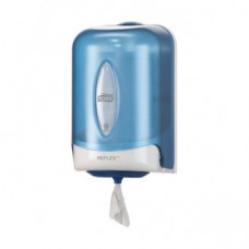 Диспенсер мини для полотенец Reflex ЦВ Tork Reflex, голубой, М3, арт. 473137
