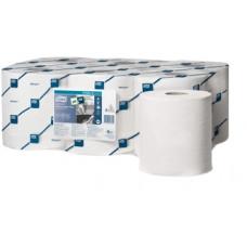 Протирочная бумага в рулоне ЦВ (со съемной втулкой) Tork Reflex Плюс Advanced, 450 листов, 2 слоя, размер 151*19 см, белый, М4 (6 шт/упак), арт. 473472