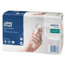 Бумажные листовые полотенца Tork Xpress® Advanced сложения Multifold, 190 листов, 2 слоя, размер 21*23,4 см, Н2 (Z-сложение) (20 шт/упак), арт. 471108