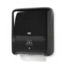 Диспенсер для бумажных полотенец в рулонах Tork Matic®, черный, Н1, арт. 551008