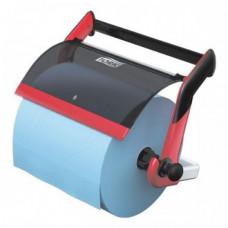Настенный диспенсер для материалов в рулоне Tork Performance, красный, W1, арт. 652108