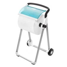 Напольный диспенсер для материалов в рулоне Tork Performance, белый, W1, арт. 652000