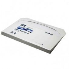 Индивидуальные бумажные покрытия на унитаз Tork Advanced, 250 листов, белый, V1, арт. 750160