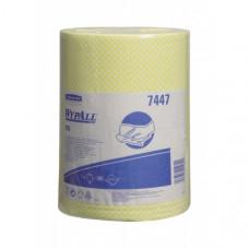 Нетканые протирочные салфетки Wypall Х50, желтый, арт. 7447