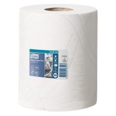 Протирочная бумага в рулоне с центральной вытяжкой Tork Advanced 370 листов, размер 125 м*23,5 см, белый, M2 (6 шт/упак), арт. 130044