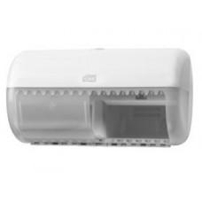 Диспенсер для туалетной бумаги в стандартных рулонах, Tork белый, Т4, арт. 557000