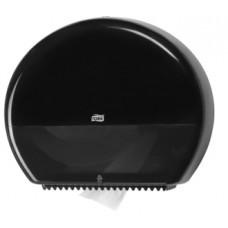 Диспенсер для туалетной бумаги в больших рулонах, Tork, черный, Т1, арт. 554008