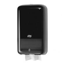 Диспенсер для листовой туалетной бумаги, Tork, черный, Т3, арт. 556008