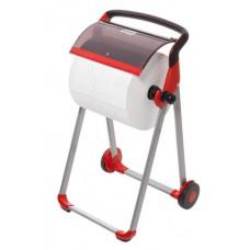 Напольный диспенсер для материалов в рулоне Tork Performance, красный, W1, арт. 652008