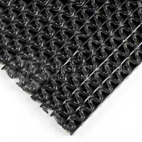Напольное покрытие виниловое Nomad ForMat 9100 без основы, 0,9 * 12 м, рулон, черный, арт. 7000040006, 3M
