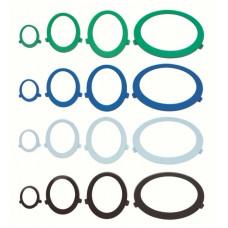 Вставка в виде колец для смотровых окон диспенсеров AQUARIUS 6948 зеленый, арт. 7914/