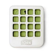 Держатель для твердого освежителя воздуха Tork, белый, А2 (8 шт/упак), арт. 562500