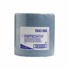 Материал протирочный полипропилен /большой рулон/ 34*38см, 500 листов,синий, рул, арт. 7643/