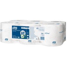 Туалетная бумага в рулонах Tork SmartOne® Advanced, 1 150 листов, 2 слоя, размер 207*13,4 см, белый, Т8 (6 шт/упак), арт. 472242