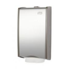 Диспенсер для листовой туалетной бумаги, Tork, металл, Т3, арт. 456000