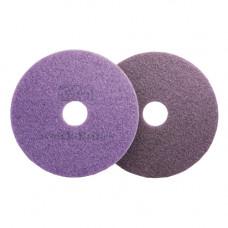 Круг полировочный алмазный для каменных полов Scotch-Brite Purple, 2-ая ступень, 432 мм * 17, фиолетовый, арт. 7000006796 /