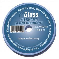 Резательная квадратная струна ProGlass, 0,6 мм * 0,6 мм, 44 м, арт. VKD-44