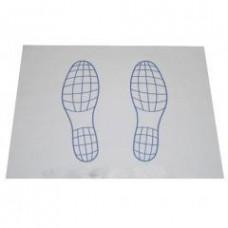 Бумага на пол Следы, 250 листов, арт. A-0080