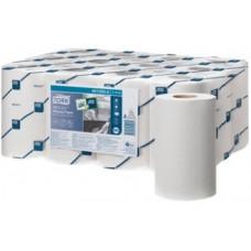Протирочная бумага в мини рулоне ЦВ (со съемной втулкой) Tork Reflex Universal, 342 листа, 1 слой, размер 120 м*23,5 см, белый, М3 (12 шт/упак), арт. 473246