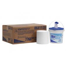 Протирочный материал для предварительного увлажнения Kimtech Prep WETTTASK, 90 листов, белый(6рул/уп), арт. 7766