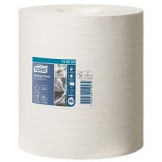 Протирочная бумага в рулоне с центральной вытяжкой Tork Universal, 471 лист, 1 слой, размер 165 м*19,5 см, белый, М2 (6 шт/упак), арт. 130034