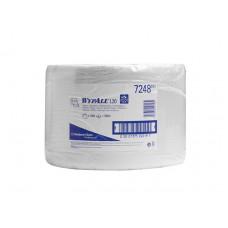 Протирочный бумажный материал большой рулон Wypall L20, 23,5 * 38 см, 1000 листов, белый, арт. 7248