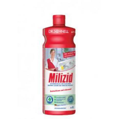 MILIZID 1 л кислотное средство для очистки санитарных зон, арт. 143387, Dr. Schnell