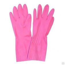 Перчатки хозяйственные резиновые LOTUS, размер L, арт. A-0200