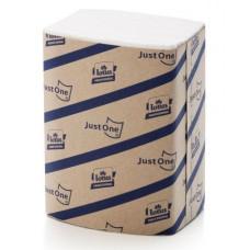 Салфетки Tork JustOne® Premium, 200 листов, 2 слоя, размер 16*24 см,белый, тиснение цветок лотоса (5 шт/упак), арт. 477741