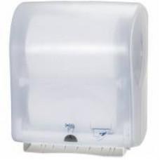 Сенсорный диспенсер для бумажных полотенец в рулонах, ширина 24,7 см, белый, Н13, арт. 471172