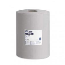 Нетканый материал для удаления масла и жира в малом рулоне со съемной втулкой Tork Premium, 390 листов, 1 слой, размер 148*32 см, серый, W1/W2/W3, арт. 520337