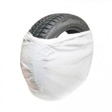 Пакет для шин и дисков 1100 * 1100, 20 мк, белый, арт. 53286 (300 шт/уп)