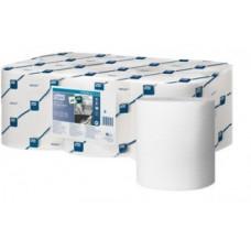 Протирочная бумага в рулоне с центральной вытяжкой* Tork Reflex Advanced, 340 листов, 1 слой, размер 114*19,4 см, белый, М4 (6 шт/упак), арт. 473412