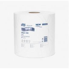 Протирочная бумага повышенной прочности в рулоне Tork Advanced, 1 000 листов, 2 слоя, размер 340*37 см, белый, W1, арт. 130060