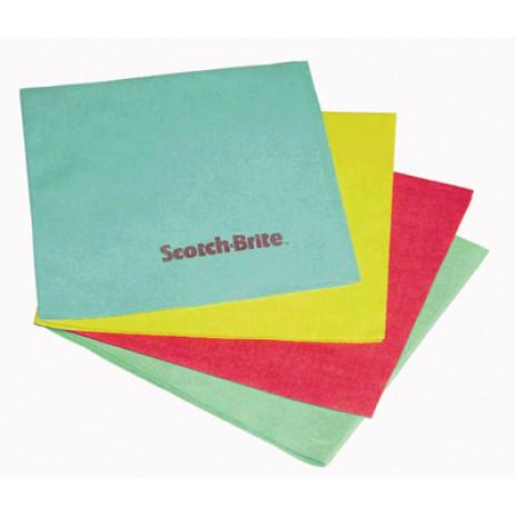 Салфетка микроволокно для удаления разводов и отпечатков пальцев SB 2060, 40 * 36 см, голубой, арт. 7000033494 /, 3M