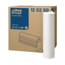 Бумажные медицинские простыни Tork Advanced, 132 листа, 2 слоя, размер 50 м*50 см, белый, С1 (9 шт/упак), арт. 125250